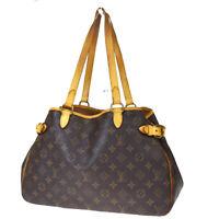 Auth LOUIS VUITTON Batignolles Horizontal Shoulder Bag Monogram M51154 80MD824