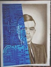Alan M. Turing by Julia M. Turing  'Past & Future' Art, Poster, Collectables
