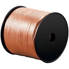 1000m (10 bobines par 100m) jumelle toron 2x 1,5mm² câble transparent 2 conducteurs