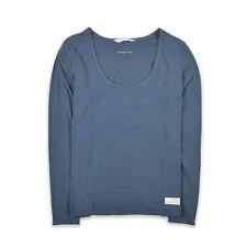 Odd Molly señora blusa camisa top camisa blouse talla 3 (de 40) 374 azul 93256