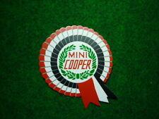 Austin Morris Rover mini cooper clubman Moke BMC rosette decal sticker 2 pc