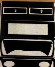 PORSCHE 996 1998 1999 00 01 02 03 04 NEW PIANO BLACK INTERIOR SET DASH TRIM KIT