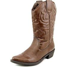 Low (3/4 in. to 1 1/2 in.) Solid Cowboy, Western Boots for Women
