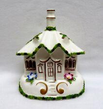 """Coalport England """"Village Church"""" Cottage House Pastille Incense Burner"""