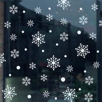Christmas Xmas Snow Flakes Display Shop Window Stickers Decorations Wall Art