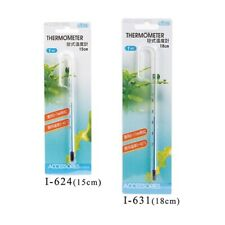 More details for ista hang on glass thermometer aquarium fish tank temperature - very accurate