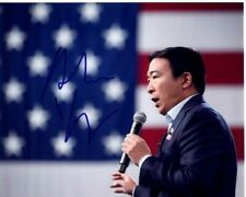 ANDREW YANG signed autographed photo 2020 DEMOCRAT PRESIDENTIAL CANDIDATE