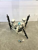 Lot of Three Clones Minifigures With ECHO SHIPS FREE FROM THE US