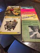 8 Vintage Piano Music Books