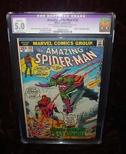 Amazing Spider-Man #122 CGC 5.0  Death of Green Goblin.
