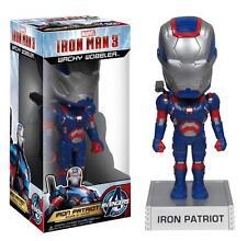 Marvel Comics Avengers IRON MAN 3 PATRIOT Wacky Wobbler BobbleHead Bobble Head