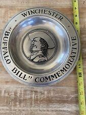 Vintage  Winchester Buffalo Bill Commemorative Plate
