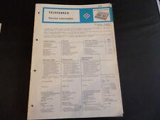 Original Service Manual Telefunken MC 2100 MC 2100 SKA