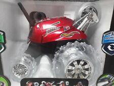 Sharper Image Thunder Tumbler 27MHz Black Remote Red Car Spinning 360 Brand New