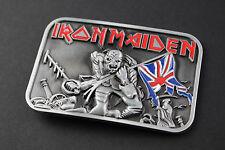 Iron maiden the trooper boucle de ceinture métal lourd piece of mind