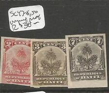 Haiti SC 47-8, 50 Imperf MOG (2coy)