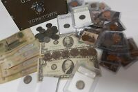 Large Coin & Bills Big Lot Includes Everything Pictured Silver Pennies and more