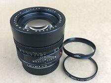 Leica R 90mm F/2 Summicron-R 2/90  #2506806 Leitz Canada 3-Cam Lens