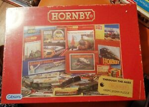 GIBSONS 1000 PIECE HORNBY THROUGH THE AGES JIGSAW PUZZLE NEW & SEALED