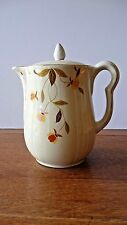 HALL China Vintage Jewel Tea 9 Cup Coffee Pot and Lid AUTUMN LEAF