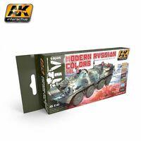 Modern Russian Colours Vol.2 Set - AK04140 - AK Interactive