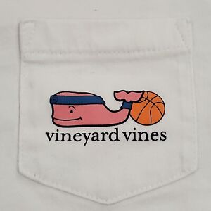 Vineyard Vines Kids T-shirt Basketball Whale Graphic Size 4T