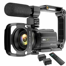Video Camera Camcorder 4K 48MP YouTube Camera WiFi Digital Camera Vlogging