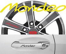 4 x Türgriff- Felgen Aufkleber Ford Mondeo 002 #1415