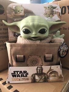Star Wars Mandalorian The Child Premium Talking Plush with Bag