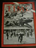 Time Magazine August 1965 The Los Angeles Riot No Label (D)