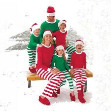 Family Matching Christmas Outfits Adult Women Men Xmas Pajamas Pyjamas Nightwear