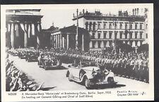 Germany Postcard - A Mercedes-Benz 'Motorcade' at Brandenburg Gate, Berlin - B61