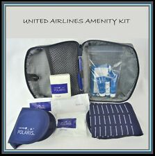 UNITED Airlines Business 1st Class ✈ Amenity Kit Polaris Zip Bag Sunday Riley