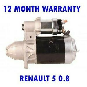 For RENAULT 5 0.8 HATCHBACK 1982 1983 1984 REMANUFACTURED STARTER MOTOR