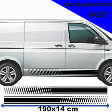 VW TRANSPORTER T4 T5 Racing Side Stripes stickers autocollant tuning Voiture Graphique
