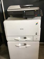 RICOH Aficio MP C305SPF Kopierer Scanner Fax Duplex  (269k SW, 13k C)
