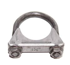 "For Universal 1 1/2"" O.D.Exhaust Hanger Muffler U Bolt Clamp Mild Steel 1.5"""