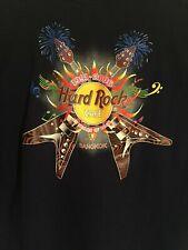 Hard Rock Cafe Mens Bangkok Thailand Graphic Guitars TShirt Sz XL