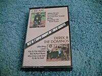Derek and the Dominoes/Cream 2 on 1 Cassette Eric Clapton