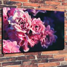 "FIORI ROSA Wall Art Scatola stampata foto su tela A1.30""x20""30mm Deep Lounge"