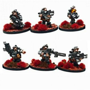 Space Dwarves - 15mm Sci-fi Miniatures by Boon Town Metals