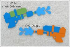 Die Cut Water Guns Super Soakers Scrapbook Embellishment Page Paper Piecing CKS