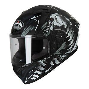 AIROH Valor Full Face Motorcycle Helmet Comfortable Sporty Design - Shell Matt