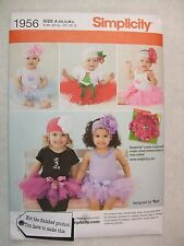 Baby Tutu Size Xsm to Lg Sewing Pattern Simplicity 1956 See Full Listing Info