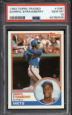 1983 Topps Traded #108T Darryl Strawberry PSA 10 Gem Mint RC Rookie Mets