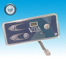 VITA SPA BY MAAX SPAS TOPSIDE CONTROL VL402 -  4  BUTTONS DUET, AMOUR, IMAGE