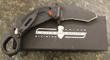 NEW Extrema Ratio Black NIGHTMARE Folding Karambit Knife with Bohler N690 Steel