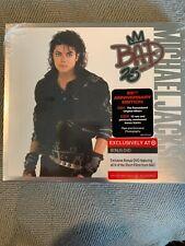 Michael Jackson Bad 25 NEW 2 CD BONUS DVD TARGET EDITION RARE exclusive