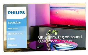Philips TAB 6305/10 Soundbar 140W 2.1 kabelloser Subwoofer Bass Bluetooth 6000