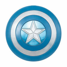 "CAPTAIN AMERICA STEALTH SHIELD! LARGE BLUE & SILVER COSTUME MARVEL NEW [24""]"